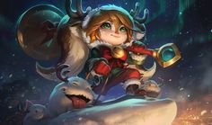 league of legends - Snow Fawn Poppy