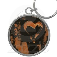Liquid Copper Heart Keychain. Thank you Erin from the Bronx for your second order! Enjoy your keychain!