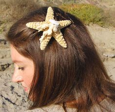 Click Pic for 26 DIY Beach Wedding Ideas | Starfish Hairpin | Beach Theme Wedding Decorations