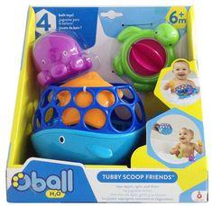 Набор игрушек для ванны Oball Морские друзья