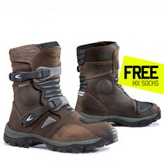 Buy Forma Adventure Low Boots - Brown part of the huge On/Off Road Boot range at Dirtbikexpress.co.uk. Order online now for Free UK Delivery.