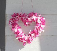 Cute Valentine wreath