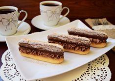Desert rapid cu pișcoturi și cremă de ciocolată - Rețete Merișor