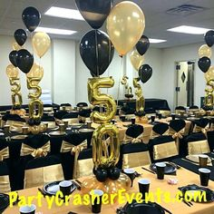 Image Result For 50th Birthday Party Ideas Men 60th Centerpieces