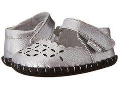 pediped Katelyn Originals (Infant) (Silver) Girl's Shoes