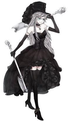 undertaker girl version 2 by ZerosSnape.deviantart.com on @DeviantArt