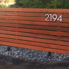 rldh - Horizontal Wood Fence - Clear Cedar Fence, 3 Feet tall by 10 feet long.