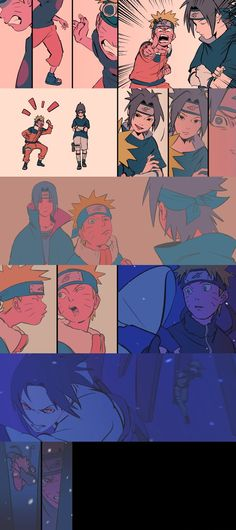 The entire series is one go. Naruto Sasuke Sakura, Naruto Cute, Naruto Shippuden Anime, Itachi, Anime Naruto, Manga Anime, Sasunaru, Narusasu, Boruto