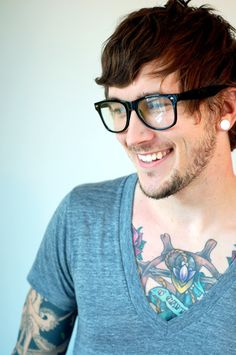 Cute tattooed guy