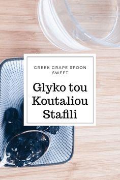 close up of glyko tou koutali0u  Ingredients