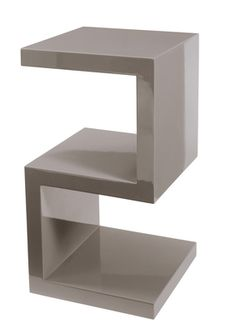 A contemporary designed table, ideal for storing magazines and books. Will look great accompanying a sofa or even a bed.