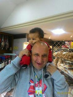 Diário do Felipinho: Vovô viajando. Saudades.