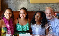 Anna, Danielle, Sandra & Richard - Davis, CA - Gorgeous interracial family of four #love #wmbw #bwwm #swirl #wearethe15percent