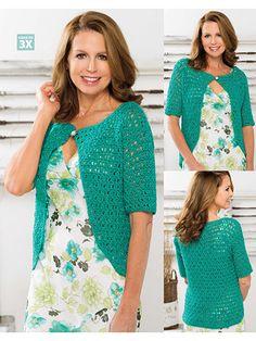 Crochet - Crochet Clothing - Cardigan Patterns - Abbey Cardigan