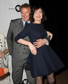 Hugh Bonneville & Elizabeth McGovern...The Lord and his Lady being very Unlord and unlady like!