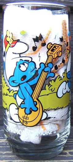 Check out Harmony Smurf Collection Drinking Glass Hardees 1983 Peyo Wallace Berrie Vintage  http://www.ebay.com/itm/Harmony-Smurf-Collection-Drinking-Glass-Hardees-1983-Peyo-Wallace-Berrie-Vintage-/151695292697?roken=cUgayN&soutkn=AHCpBY via @eBay