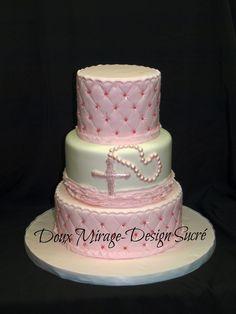 Gâteau de Baptême,  Christening cake