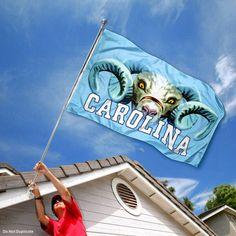 University of North Carolina Tar Heels Flag