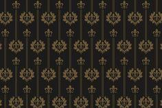 vintage wallpaper Graphics vintage wallpaper vector art by kio Vintage Pattern Design, Retro Pattern, Textile Patterns, Damask Patterns, Floral Patterns, Shiva Hindu, Vector Art, Graphics Vintage, Wallpaper