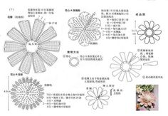 Flores Crochet - Poii Abalorios - Веб-альбомы Picasa