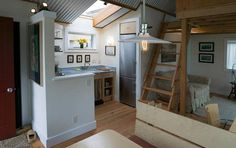 433 Sq. Ft. Floating Tiny Home by Studio Hamlet Architects