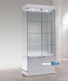 Vitrinas Kloof | Vitrina de armario de puertas 121 CS