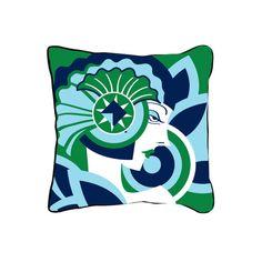 ModShop Art Deco Face Throw Pillow | AllModern