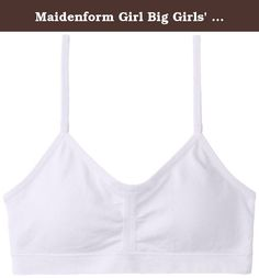 M 7 8 L 10 12 XL 14 16 Girl/'s Maidenform A Cup Green or Blue Gingham Bra S 6 6X