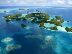 Palau's Rock Islands by Stephen Alvarez