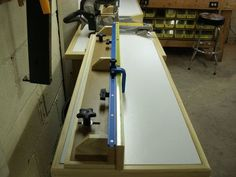 Deluxe Miter Saw Station