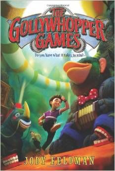 The Gollywhopper Games by Jody Feldman -- this was the first book I read to my students this year.