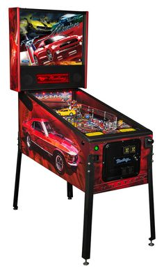 Celebrate 50 years of Ford Mustang with this Mustang Pro pinball machine from Stern Pinball! Video Game Machines, Arcade Game Machines, Arcade Machine, Arcade Games, Pinball Games, New Mustang, Ford Mustang, Stern Pinball, Pinball Wizard