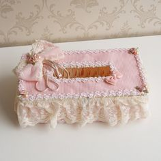 The taste of petty life / lovely pastoral lace towel sets / tissue box cover paper towel box Specials
