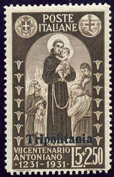 Italian Colonial Stamps - Tripolitania