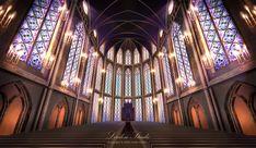 anime church deviantart scenery fantasy 收藏