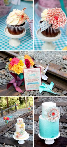 Carnival Theme Wedding Details!