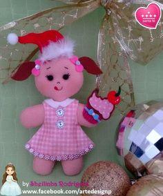 Biscoitinho de natal (feltro)