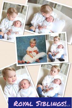 Prince George and Princess Charlotte ... Prince William and Prince Harry