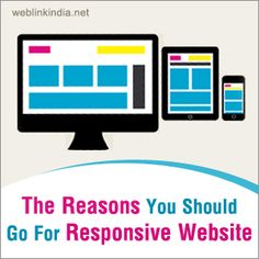 The Reasons You Should Go For Responsive #Website - Blogs