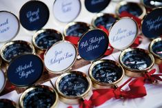 Compass escort cards make a clever addition to a nautical-themed wedding! Photography courtesy of Photo Company. Wedding Seating, Wedding Reception, Our Wedding, Wedding Ideas, Wedding Inspiration, Wedding Themes, Wedding Table, Wedding Decor, Wedding Stuff