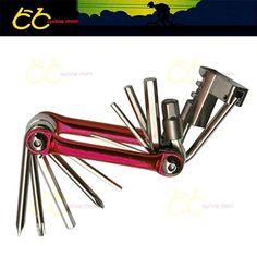 Bicycle multi-functional combination tool 1 Multifunction Bike Bicycle Repair Tool Chain Cutter Hex Wrench Screwdriver #bicyclerepairtools #bikerepair