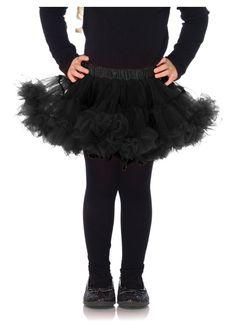 Black Girls Petticoat Underskirt by Leg Avenue Wizard Costume, Prince Costume, Unicorn Costume, Childrens Fancy Dress, Fancy Dress For Kids, Toddler Costumes, Adult Costumes, Girls Petticoat, Red Riding Hood Costume