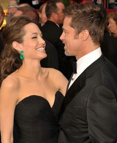 Brad Pitt and Angelina Jolie for their social engagement