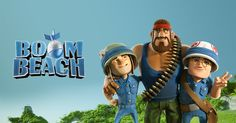 Open link in Boom Beach or download the game.