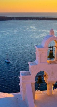 ~ Magical Santorini Sunset at Oia ~ Greece