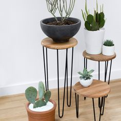 Centro Modular Table Meet the Aldama Side Table. Marrying Old World and modern design influences, this table set features a rich Mexican parota wood top [. Decor, Modular Table, Side Table, House Styles, Decor Inspiration, Home Decor, Black Side Table, Home Deco, Modern Decor