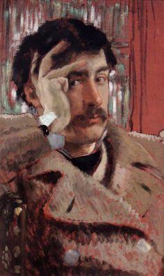 "artesens: ""Self portrait, 1865 James Tissot """