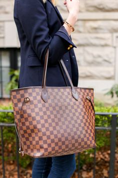 Louis Vuitton Neverfull MM Tote | Charmingly Styled