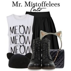 """""""Mr. Mistoffelees - Cats"""" by thebroadwaywardrobe on Polyvore"""
