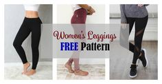 The tight leggings FREE pattern was published in the Finish website Nosh and is available in sizes XS-XL. This pattern is for a basic pair of leggings and you can customize it for many different looks. Use solids, prints, add cutouts or … Read Free Leggings, Basic Leggings, Tight Leggings, White Leggings, Sewing Patterns Free, Free Pattern, Dance Leggings, Patterned Leggings, Pants Pattern